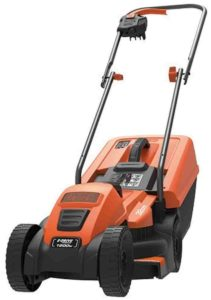 Black and Decker 1200W Edge-Max Lawn Mower