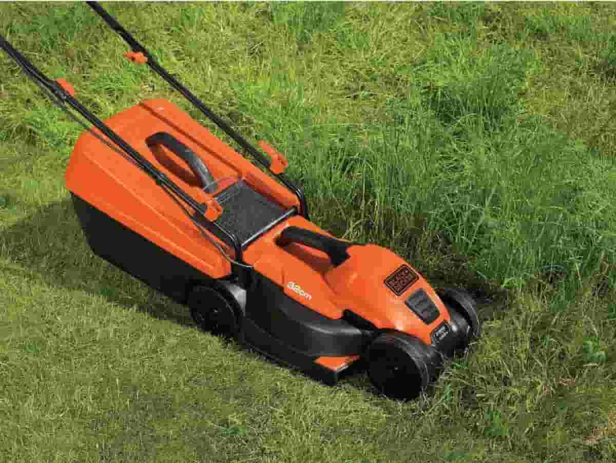 Electric Mower Left Out In The Rain