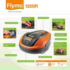 Fly 1200R Lithium-Ion Robotic Lawn Mower Review