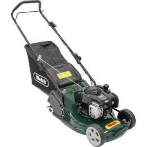 Webb Supreme RR17P Push Drive Petrol Rotary Rear Roller Lawnmower