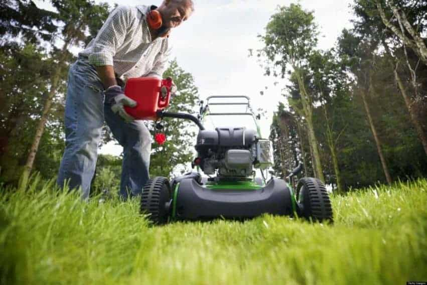 what oil to use in my lawn mower