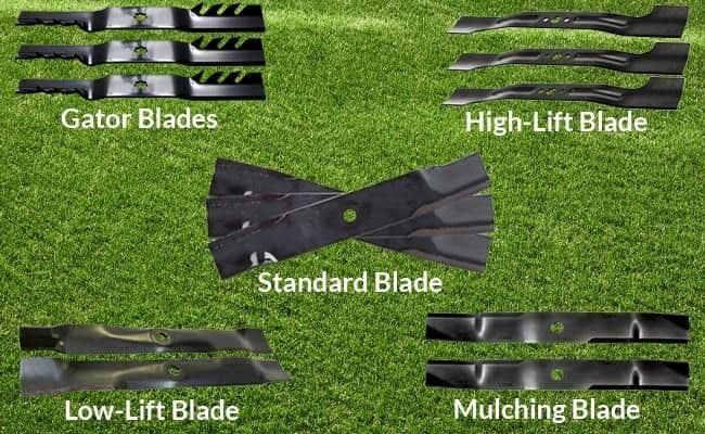 Different Types Of Mower Blades