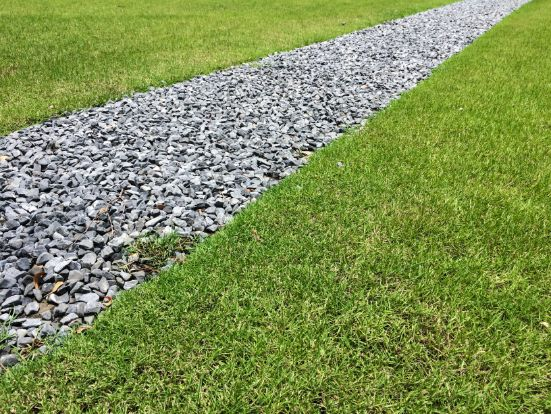 How To Lay Gravel Over Grass