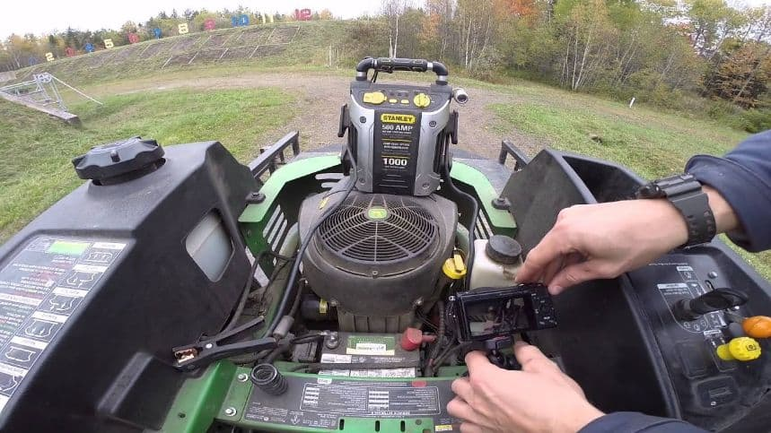 Precautions To Consider Before Jumpstarting Your Mowers Battery