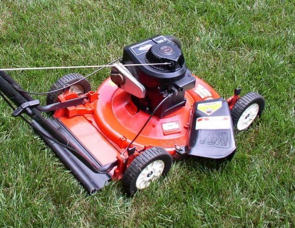 Side discharge mowers