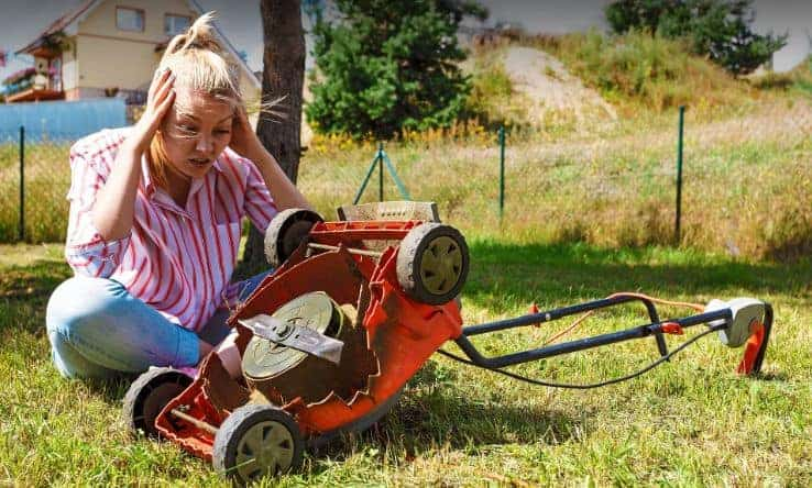 Why Does The Lawn Mower Keep Cutting Off