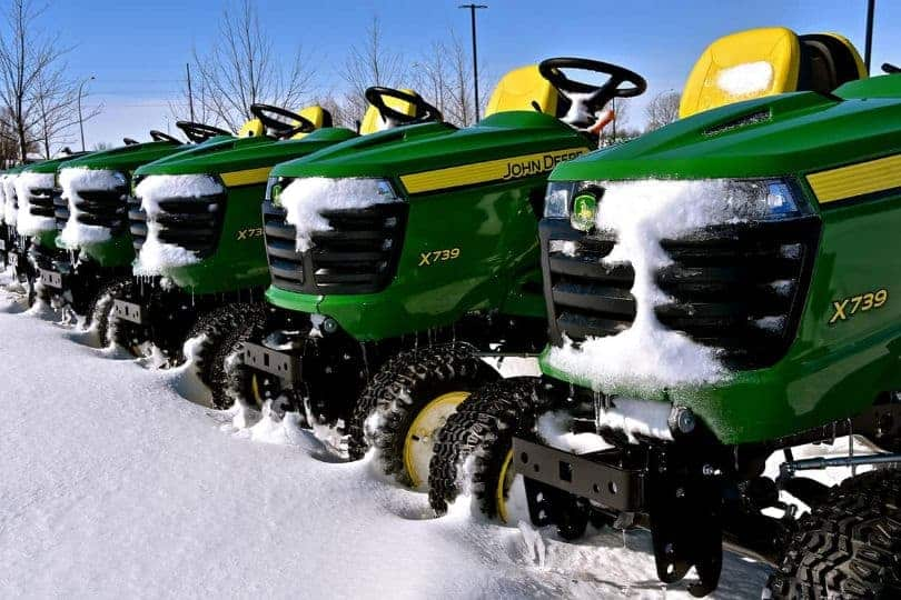 Are Lawn Mowers Cheaper During The Winter Months
