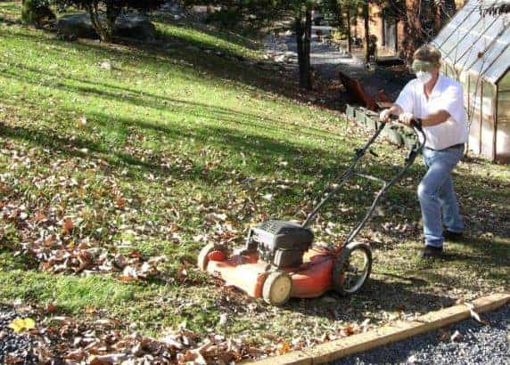 Can I Pick Up Leaves With a Lawnmower
