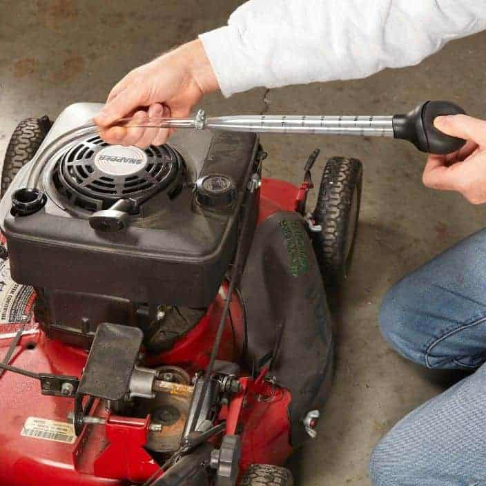 Learn How to Drain Your Mower's Oil Properly