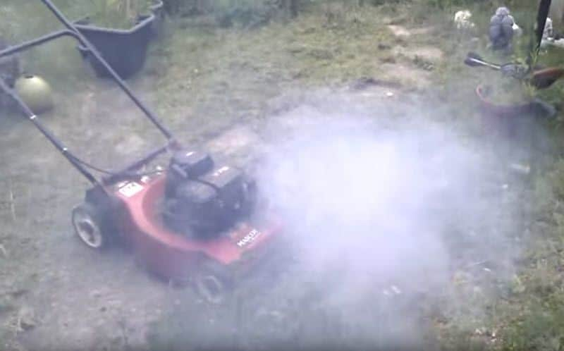 Reasons For White Smoke From Your Mower