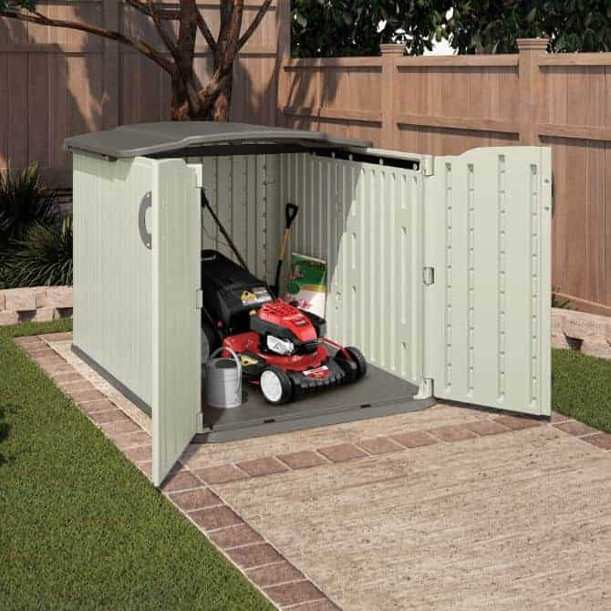 Storage Ideas for Normal Mowers