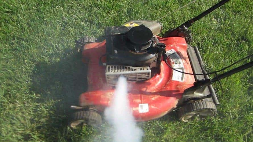 Why Would Your Mower Blow White Smoke