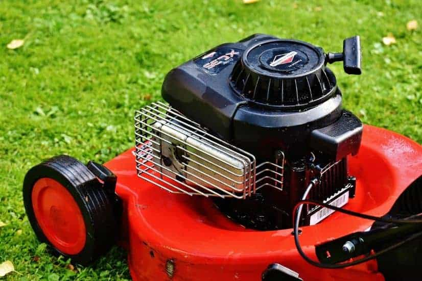 Why do lawnmowers use 4 cycle engines